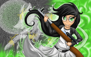 BG: Witch of Space by Pinnaclehill