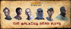 THE WALKING DEAD BOYS... by TOBY71