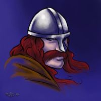 sketch - Erik the Red by thrivis