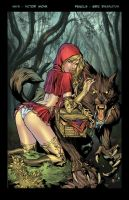 Red Riding Hood Colored by Javilaparra