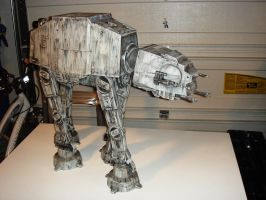 Properly Rendered AT-AT Walker by MirkoBos