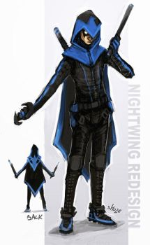 Redesign contest - nightwing by shoze