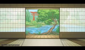 Dojo Background - Day by zimmay
