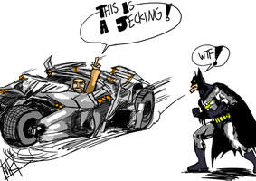 This Is A Jecking Batman by Mkemaster
