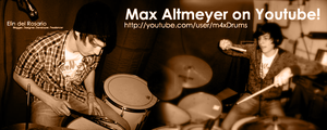 Drum Covers by Max Altmeyer by elindr