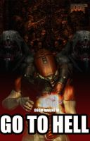 GO TO HELL by R-Clifford