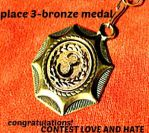 Medal-3-CONTEST-LOVE AND HATE by YOKOKY