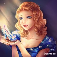 A Dream Is A Wish Your Heart Makes by enmoire