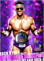 Zack Ryder - Artwork - WWE by roXx81