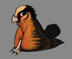 Lil Werevulture by TheseWeirdFishes