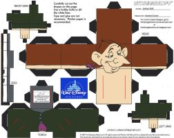 Horror17: Ichabod Crane Cubee by TheFlyingDachshund