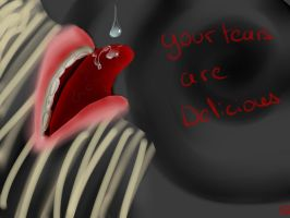 Your tears are delicious by otakugaelle