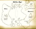 Denham map of Nullius Ager a.k.a. Monster Island by RMC1618