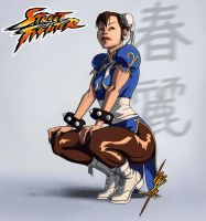 Trinquette Drawing Challenge - 16-01-14 [CHUN LI] by mad-smile