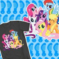 PONY PULLS THE WAGON - WLF Tshirt Entry by psaply