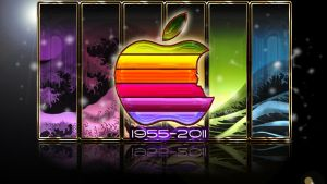 r.i.p steve jobs by rowlee