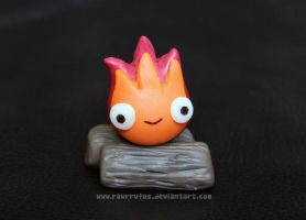 Tiny Calcifer Figure xx by RawrRufus