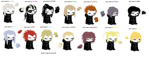 Kingdom Hearts Homestuck Sprites by maraniia