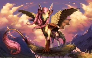Flutterdie - One with Nature (MLP) by Neytirix