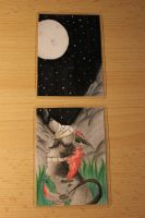 ACEO 12 and 13 - fullmoon by Rhass