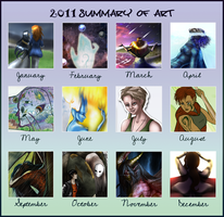 2011 Summary of Art by EjLowell