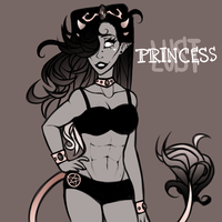 Princess Lust by gumskull