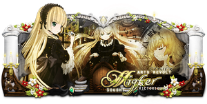 Sign - Victorique de Blois - Gosick by Kiochiu