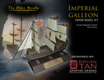 Elder Scrolls Online - Imperial Galleon Papercraft by RocketmanTan