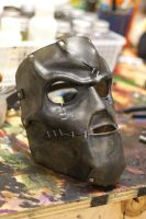 Stapled and Riveted Mask by OsborneArts