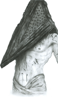 Portrait of Pyramid Head by PyramidHeadxXx