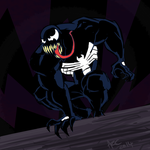Venom sketch by WesleyRiot