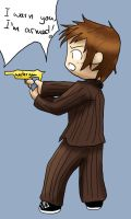 Doctor Who - watergun by Nie-Nie7