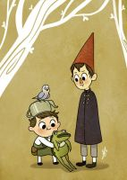 OvertheGardenWall by Quackamos
