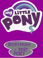 Nightshade best pony by awesome992