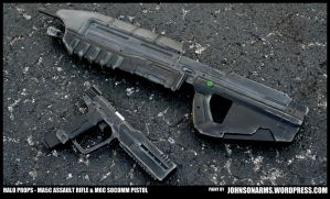 Halo MA5C and M6C SOCOM Resin Replicas by JohnsonArms