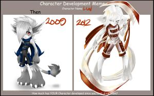Character Development Meme - Lun by Kiizuh