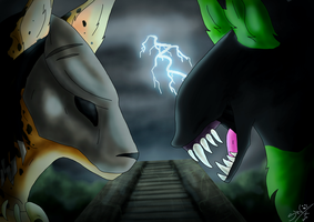 The Hunter and the Serpent by SheWolfey