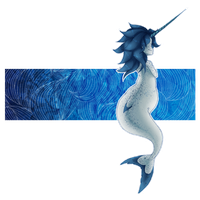 Narwhal Gurl by LegendaryDragonfly