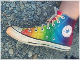 collorful converse by zoeyPhotographer