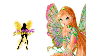 World of Winx Flora Dreamix - PNG by Gallifrey93