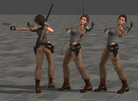 Laramod, wip 1 by tombraider4ever
