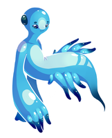 blue dragon nudibranch by Electrical-Socket