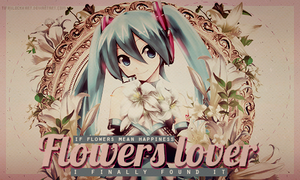Flowers lover by TifaxLockhart