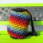 Rainbow Dragon Backpack by AllSunday10