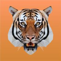 Triangular Indochinese Tiger by azeblueprint15
