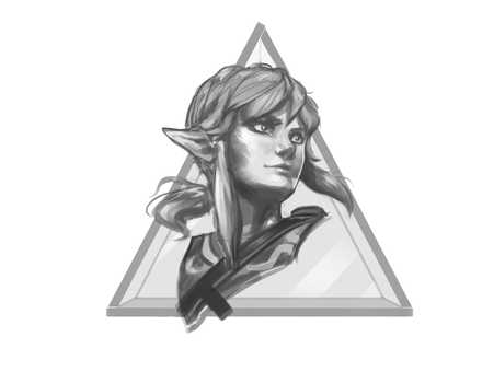 Day one of the Hyrule courage by NicoFari