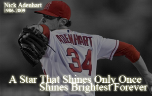 Nick Adenhart Memorial by nascarstones