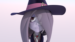 Droopy Eyed Witch by Requiempeaux