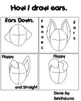 How I draw ears... by SekitaLuna