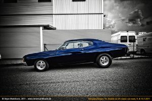 blue chevrolet chevelle by AmericanMuscle